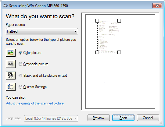 how do i scan a document to pdf