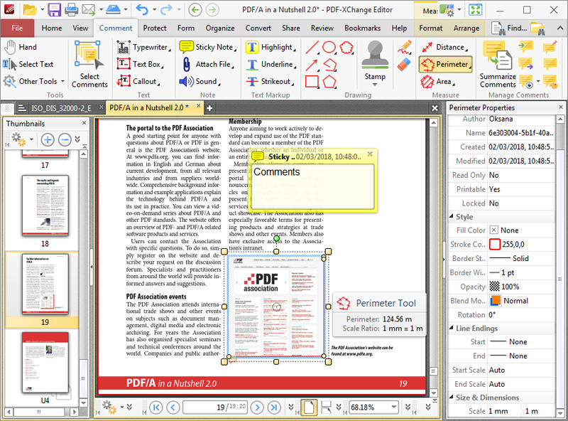 Click to view PDF-XChange Editor 8.0.336.0 screenshot