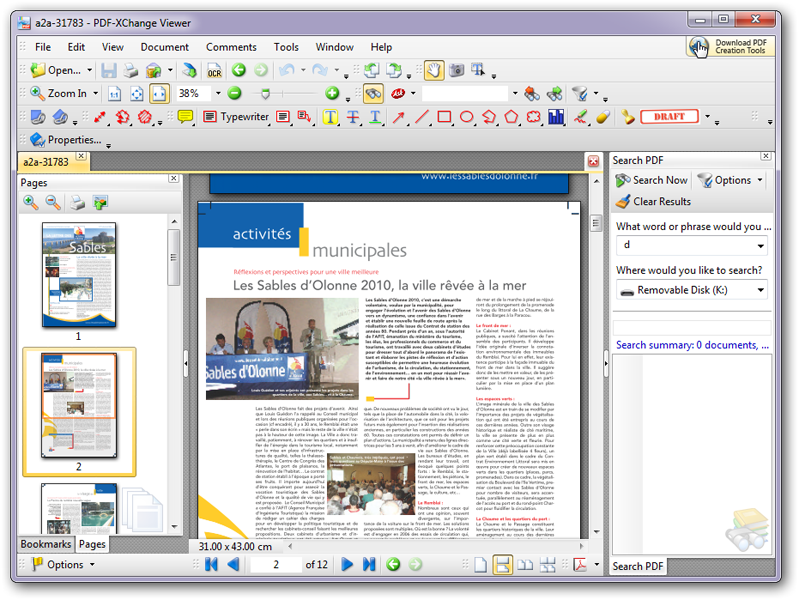 PDF-XChange Viewer Screen shot