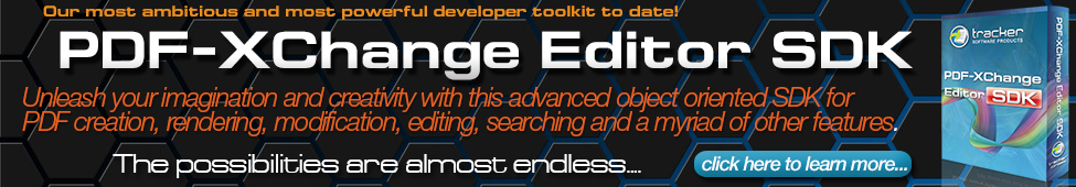 PDF-XChange Editor SDK - Available Now!