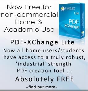 PDF-XChange Lite - Now Free for Non-Comercial Use