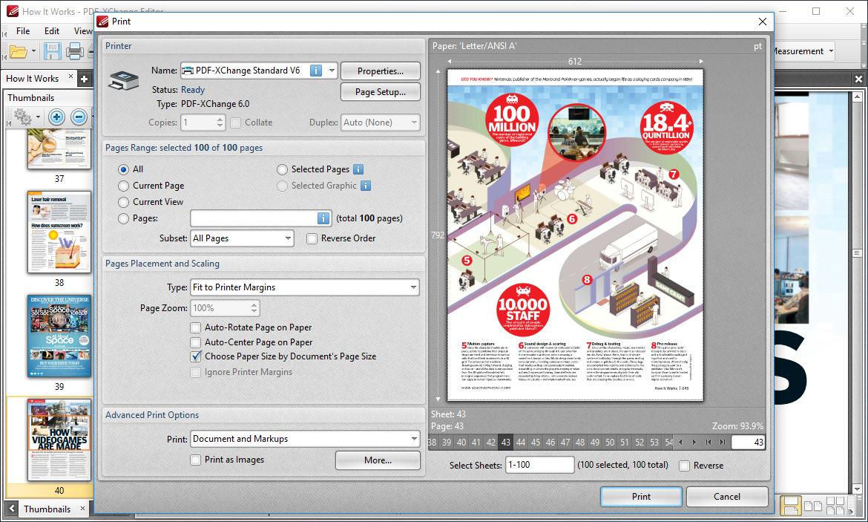Printing PDFs