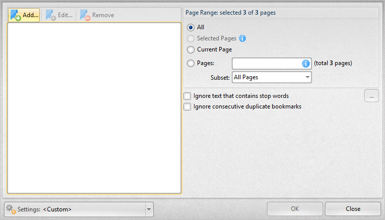 Tracker Software Products :: Knowledge Base :: Create a