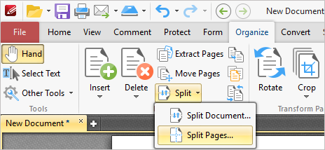 Tracker Software Products :: Knowledge Base :: split pages