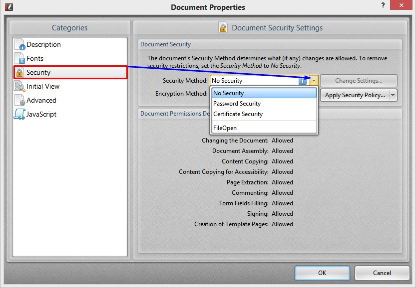 how to make protected pdf
