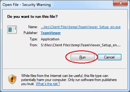 TeamViewer UAC