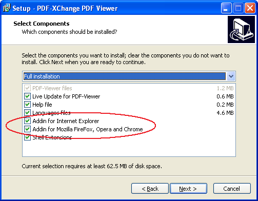 Tracker Software Products :: Knowledgebase :: I have a problem with using the PDF-XChange Viewer ...