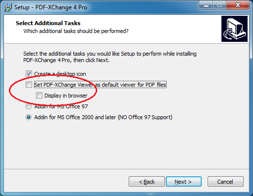 Tracker Software Products :: Knowledgebase :: I have a problem with the PDF-XChange 4 Pro ...