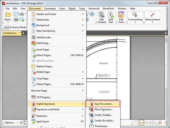 how do i digitally sign a pdf document