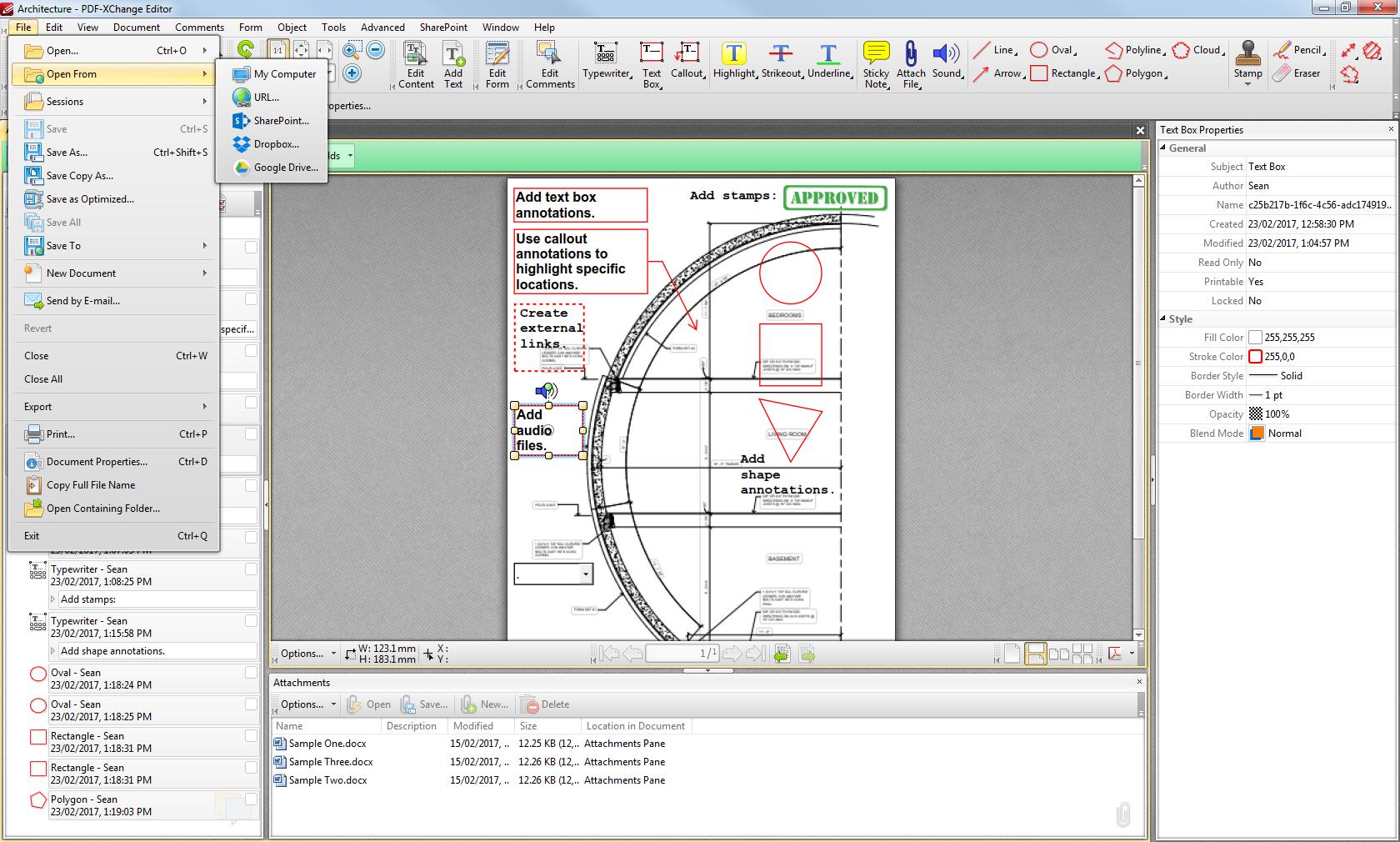pdf xchange editor insert blank page into pdf