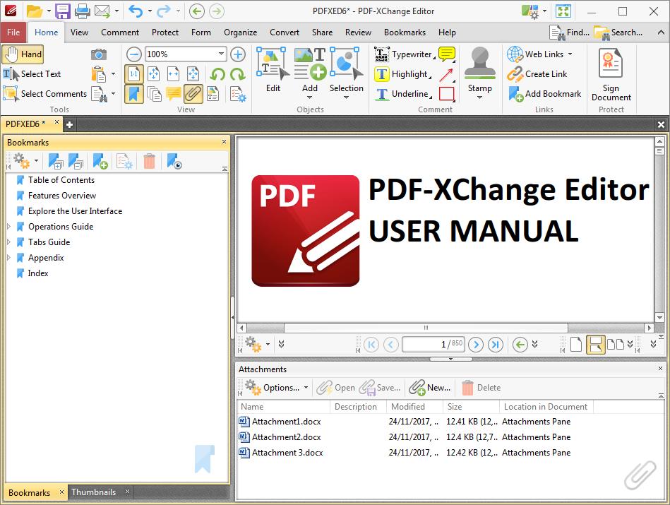 PDF-XChange Editor Feature List