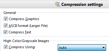 Compress and Optimize Files