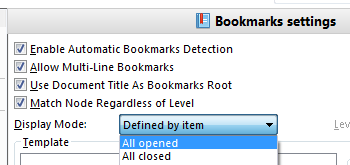Create Customized Bookmarks