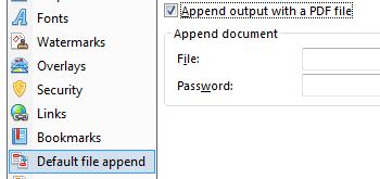 Append/Prepend Files