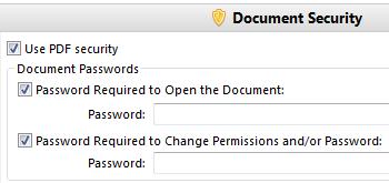 Secure PDF Files