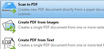 Scan to PDF