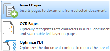 Insert Pages
