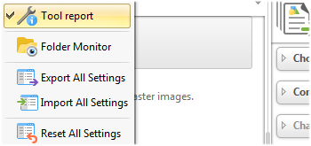 View Tool Reports