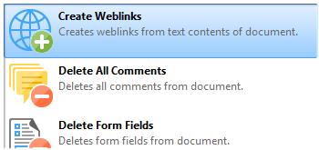 Create Weblinks