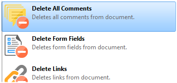 Delete Page Elements