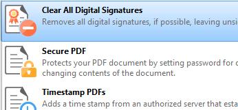 Clear Digital Signature Fields