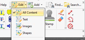 Customize the Edit Content Tool