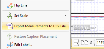 Export Measurements to a CSV File