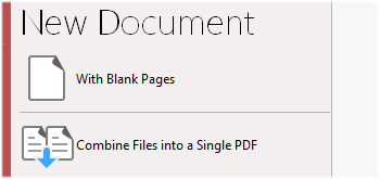 Create Blank Documents