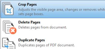 Edit Document Pages