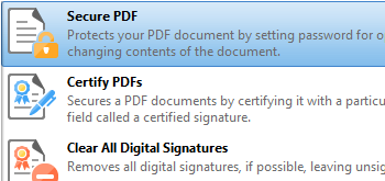 Protect PDF Documents