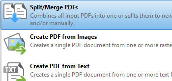 Combine Documents into a Single PDF