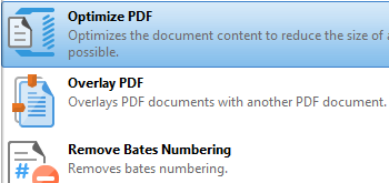 Optimize Documents