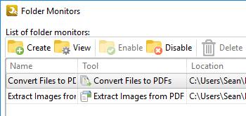 Utilize Folder Monitors