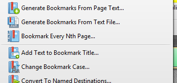 Bookmark Documents