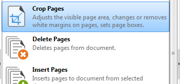 Edit Document Pages