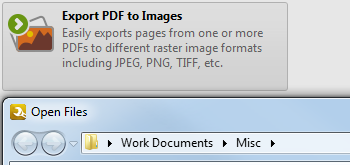 Export PDF to Images