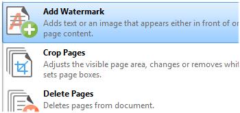 Add Watermarks