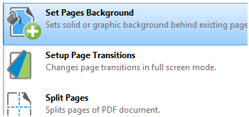 Add Page Backgrounds