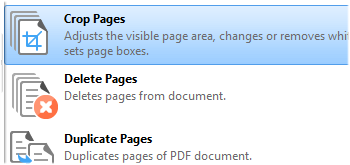 Crop Pages
