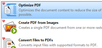 Optimize Documents