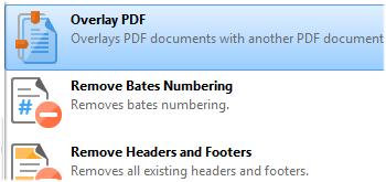 Overlay PDF Files
