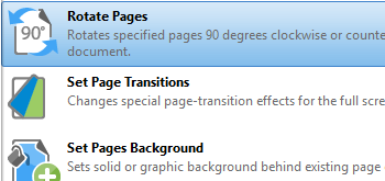 Rotate Pages