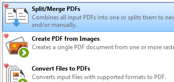 Split/Merge PDF Files