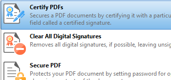 Certify Documents