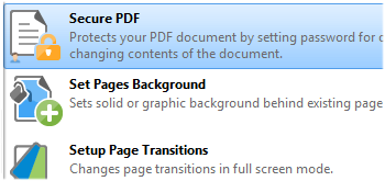 Secure PDFs