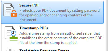 Secure PDFs
